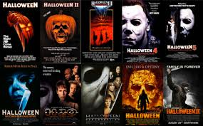 halloween theme background michael myers a complete ranking of all 10 u0027halloween u0027 movie posters bloody