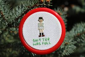 pattern only vacation ornament cousin eddie