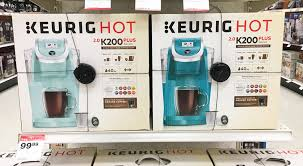 target black friday 2017 keurig keurig k200 plus coffee maker 74 99 at target reg 119 99