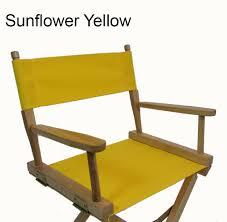 Patio Furniture Covers Sunbrella - sunbrella directors chair replacement cover round stick