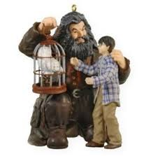 2009 harry potter hagrid and hedwig keepsake ornament at hooked