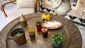 cuisine souad du thé vert à la menthe fraiche picture of dar souad la marsa