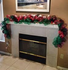 Outdoor Christmas Garland Decorating Ideas by Front Door Deco Mesh Christmas Decorations Designcorner
