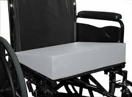 anti thrust wheelchair cushions foam anti thrust wedges blue