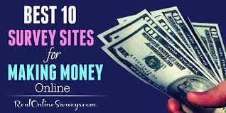 Money Making Online Surveys - best 10 paid survey sites for making money online