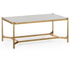 mirrored coffee table set luxe coffee table rectangle pavilion broadway