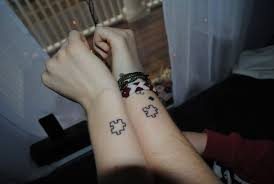 love matching tattoos for couples