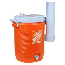 the home depot 5 gal orange water cooler 1787500 the home depot