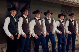 groomsmen attire for wedding wedding ideas wedding ideas westernr groom photo and groomsmen
