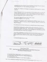 leaked letter written by dr richard ishmael which got him