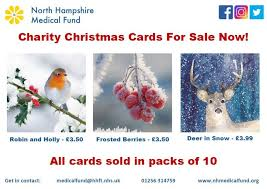 charity christmas cards on sale now u2013 north hampshire medical fund