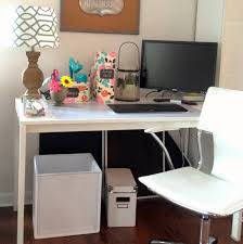 Diy Office Desks Loveyourroom Diy Home Office Desk Skirt Hides Clutter