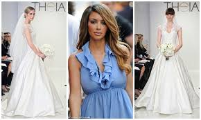 wedding dress kanye theia conjures up s wedding gown