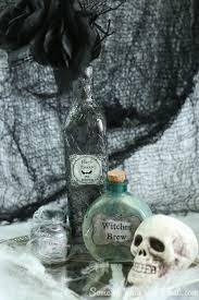 home made holloween decorations diy halloween decorations diy potion bottles 3 different styles