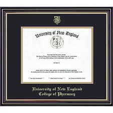 of new college of pharmacy 14x17 diploma frame