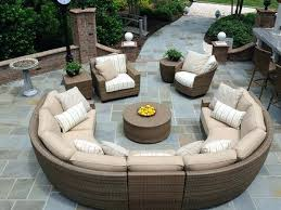 round patio couch semi circle outdoor couch astonishing contemporary