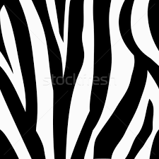 seamless tiling zebra animal print pattern vector illustration