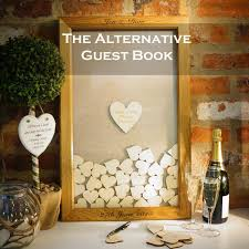 wedding gift book wedding guest book alternative wedding guest book heart