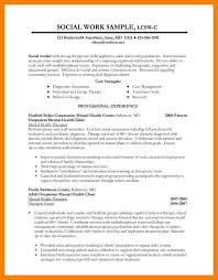 4 social worker resume template cv for teaching