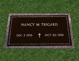 grave plaques trigard memorials custom bronze grave memorial markers
