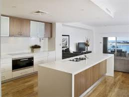 Designer White Kitchens Pictures Overhead Cabinets Glass And Timber Breaks Up Colours Modern
