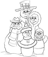 coloring page snowman family snowman coloring pages free snowman family coloring pages coloring