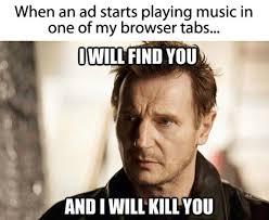 Taken Meme - i will find you