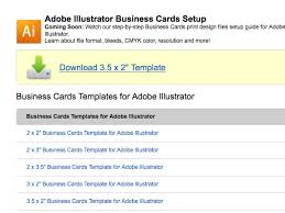 Resolution For Business Cards Create A Business Card In Illustrator And Print It With Uprinting