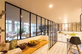 verriere interieur cuisine aménagement cuisine la tendance verrière d intérieur plans pluriel