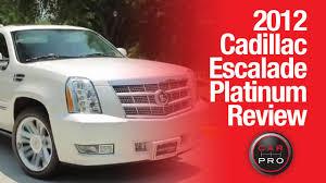 2012 cadillac escalade review test drive 2012 cadillac escalade platinum review test drive by