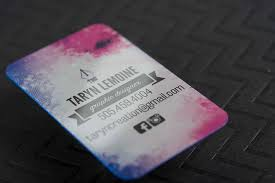 11 great designs for business card layout inspiration