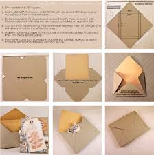paper glue envelope tutorial for embellished cards fits
