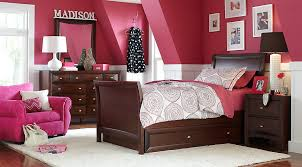 league cherry 6 pc sleigh bedroom bedroom sets