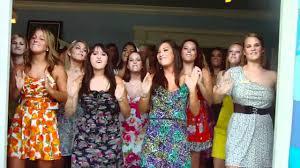 Sorority Formal Dress We Are Living In A Sorority World Kkg Door Song Youtube