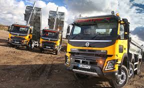 volvo 18 wheeler commercial 40 fmx 8 4 tippers are first volvo trucks for walsh fleet uk haulier
