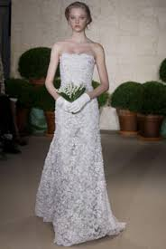 oscar de la renta lace wedding dress oscar de la renta 22e20 discount designer wedding dress discount