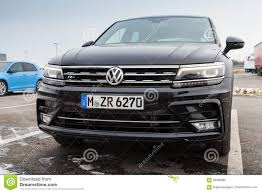 volkswagen tiguan 2017 r line volkswagen tiguan r line black 2017 editorial photography