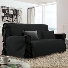 housse pour canapé 3 places housse de canapé 3 places noir housse de canapé eminza