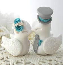 birds wedding cake toppers reserved for therine birds wedding cake topper white