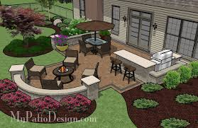 patio for backyard entertaining outdoor fireplaces u0026 fire pits