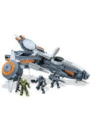 halo warthog mega bloks mega bloks halo h5 phaeton gunship set