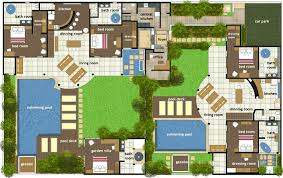 villa home plans design villa house plans india disney floor related 44638