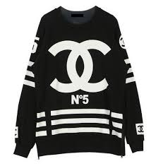 coco chanel no5 hoodie on the hunt