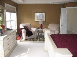 inspiring goodly master bedroom sitting area with white sofa