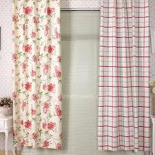 japanese plaid elegant metal hooks colorful curtains sale online