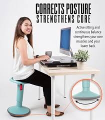 stand steady up wobble stool for seating recommended by one degree