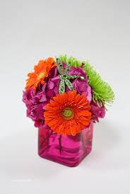 Local Flower Delivery Gerbera Daisy Mixed Fresh Flower Arrangement Flower Delivery