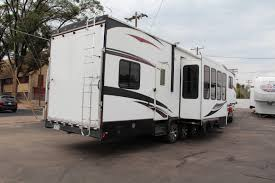 used 2011 gulfstream enduramax 3912end fifth wheel toy hauler for