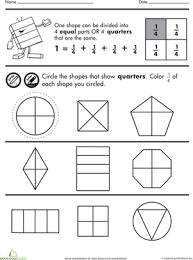 fraction worksheets 2nd graders mreichert kids worksheets