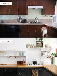 making nice in the midwest i m just a thrifty gal who wears hats find this pin and more on kitchens before after kitchen how to make an inexpensive plank backsplash installing butcher block counters